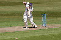 Nick Browne of Essex in batting action during Warwickshire CCC vs Essex CCC, LV Insurance County Championship Group 1 Cricket at Edgbaston Stadium on 22nd April 2021