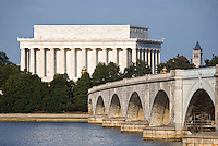 Memorial Bridge Lincoln Memorial Washington DC Washington DC Art - - Framed Prints - Wall Murals - Metal Prints - Aluminum Prints - Canvas Prints - Fine Art Prints Washington DC Landmarks Monuments Architecture