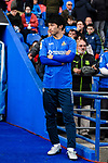 Gaku Shibasaki of Getafe CF waiting for the pre-kick of presentation during the La Liga 2017-18 match between Getafe CF and SD Eibar at Coliseum Alfonso Perez Stadium on 09 December 2017 in Getafe, Spain. Photo by Diego Souto / Power Sport Images