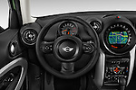 Car pictures of steering wheel view of a 2015 MINI Paceman Cooper 3 Door Hatchback Steering Wheel