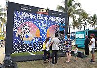 MIAMI BEACH, FL - FEBRUARY 1: FOX SUPER BOWL LIV ACTIVATION AT LUMMUS PARK AND FOX SPORTS SOUTH BEACH STUDIO: FOX's weeklong interactive fan experience on the beach in Miami at Lummus Park on February 1, 2020 in Miami Beach, Florida. (Photo by Frank Micelotta/Fox/PictureGroup)