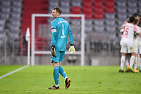 3rd January 2021, Allianz Arean, Munich Germany; Bundesliga Football, Bayern Munich versus FSV Mainz;  Goalie Manuel Neuer  looks dejected as they go behind by 0-2