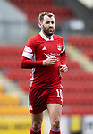 St Johnstone v Aberdeen…10.04.21   McDiarmid Park   SPFL<br />Niall McGinn<br />Picture by Graeme Hart.<br />Copyright Perthshire Picture Agency<br />Tel: 01738 623350  Mobile: 07990 594431