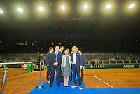 September 10, 2014,Netherlands, Amsterdam, Ziggo Dome, Davis Cup Netherlands-Croatia, Official Diner<br /> Photo: Tennisimages/Henk Koster