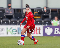 Lauren Bruton of Reading on the ball during Tottenham Hotspur Women vs Reading FC Women, Barclays FA Women's Super League Football at the Hive Stadium on 7th November 2020