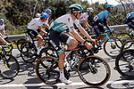 Jordi Meeus (BEL) Bora-Hansgrohe during Stage 1 of the 100th edition of the Volta Ciclista a Catalunya 2021, running 178.4km from Calella to Calella, Spain. 22nd March 2021.   <br /> Picture: Bora-Hansgrohe/Luis Angel Gomez/BettiniPhoto | Cyclefile<br /> <br /> All photos usage must carry mandatory copyright credit (© Cyclefile | Bora-Hansgrohe/Luis Angel Gomez/BettiniPhoto)