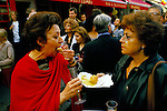 Belgravia. London Motcomb Street street party. July 1998