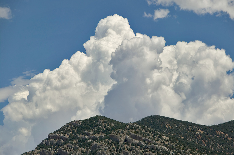 Clouds over Ruby Mountains, Nevada