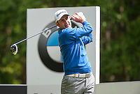 21.05.2015. Wentworth, England. BMW PGA Golf Championship. Round 1.  Richard Bland [ENG] on the Par 4 3rd, during the first round of the 2015 BMW PGA Championship from The West Course Wentworth Golf Club