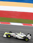 03 Apr 2009, Kuala Lumpur, Malaysia ---   Brawn GP Formula One Team driver Rubens Barrichelo of Brazil on the second practice session during the 2009 Fia Formula One Malasyan Grand Prix at the Sepang circuit near Kuala Lumpur. Photo by Victor Fraile --- Image by © Victor Fraile / The Power of Sport Images