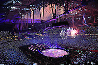 Halbzeitshow des Super Bowl XLIX mit Katy Perry  - Super Bowl XLIX, Seattle Seahawks vs. New England Patriots, University of Phoenix Stadium, Phoenix