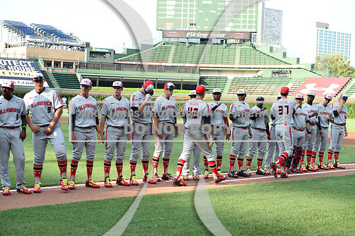Under Armour All-American Game on August 16, 2014 at Wrigley Field in Chicago, Illinois.  (Mike Janes/Four Seam Images)