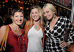 From left: Alia Rdissi, Valerie Eissler and Lisa Hudson at the Hotel Zaza's annual Spring Party Wednesday April 24, 2013.(Dave Rossman photo)