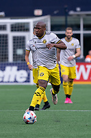 FOXBOROUGH, MA - MAY 16: Darlington Nagbe #6 Columbus SC during a game between Columbus SC and New England Revolution at Gillette Stadium on May 16, 2021 in Foxborough, Massachusetts.