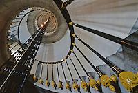 Europe/France/Bretagne/29/Finistère/Ile d'Ouessant: Le phare de Créac'h, escaliers en colimaçon