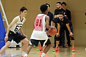Stefan Curry of Golden State Warriors holds basketball clinic in Tokyo