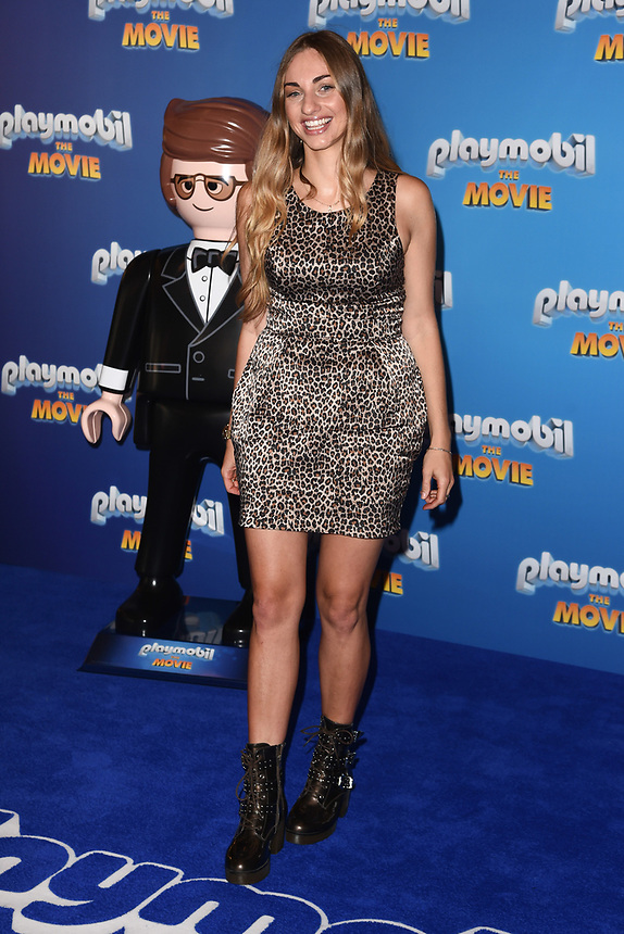 """Tallia Dean<br /> arriving for the """"Playmobil:The Movie"""" premiere at the Vue Leicester Square, London<br /> <br /> ©Ash Knotek  D3515  04/08/2019"""