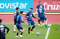 Spain's Nacho Fernandez during training session. June 5,2018.(ALTERPHOTOS/Acero) /NortePhoto.com NORTEPHOTOMEXICO