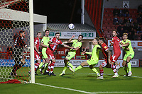 Ruel Sotiriou of Leyton Orient goes close during Crawley Town vs Leyton Orient, Papa John's Trophy Football at The People's Pension Stadium on 5th October 2021