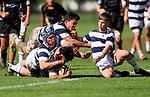 1st XV Rugby, St Paul's Collegiate v Palmerston North Boys High, St Pauls Collegiate, Hamilton, New Zealand. Saturday 17 April 2021 Photo: Simon Watts/www.bwmedia.co.nz
