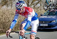 Mathieu Van der Poel (NED/Alpecin-Fenix)<br /> <br /> 112th Milano-Sanremo 2021 (1.UWT)<br /> 1 day race from Milan to Sanremo (299km)<br /> <br /> ©kramon