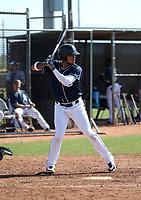 Gabriel Arias - San Diego Padres 2019 spring training (Bill Mitchell)