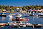 Autumn in Bass Harbor, Downeast, ME
