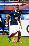 Frankrijk, Parijs, 13 november 2015<br /> Oefenwedstrijd<br /> Frankrijk-Duitsland (2-0)<br /> Kingsley Coman van Frankrijk