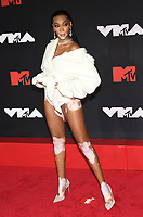 NEW YORK, NY- SEPTEMBER 12: Winnie Harlow at the 2021 MTV Video Music Awards at Barclays Center on September 12, 2021 in Brooklyn,  New York City. <br /> CAP/MPI/JP<br /> ©JP/MPI/Capital Pictures