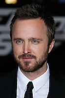 """HOLLYWOOD, CA - MARCH 06: Aaron Paul at the Los Angeles Premiere Of DreamWorks Pictures' """"Need For Speed"""" held at TCL Chinese Theatre on March 6, 2014 in Hollywood, California. (Photo by Xavier Collin/Celebrity Monitor)"""