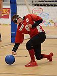 Blair Nesbitt, Toronto 2015 - Goalball.<br /> Canada's Men's Goalball team plays against Venezuela // L'équipe masculine de goalball du Canada joue contre le Venezuela. 10/08/2015.