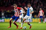 Gabriel Appelt Pires (R) of CD Leganes battles for the ball with Saul Niguez Esclapez of Atletico de Madrid during the La Liga 2017-18 match between Atletico de Madrid and CD Leganes at Wanda Metropolitano on February 28 2018 in Madrid, Spain. Photo by Diego Souto / Power Sport Images