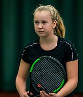 Wateringen, The Netherlands, November 27 2019, De Rhijenhof , NOJK 12/16 years, Britt Du Pree (NED)<br /> Photo: www.tennisimages.com/Henk Koster