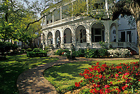 AJ3363, Charleston, Inn, hotel, spring in Charleston in the state of South Carolina.