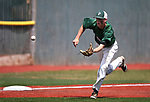 Cole Saragosa makes a play for Palo Verde in the NIAA 4A baseball championship game against Basic, in Reno, Nev., on Saturday, May 19, 2018. Palo Verde won 4-2. Cathleen Allison/Las Vegas Review-Journal