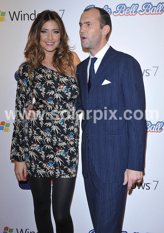 **ALL ROUND PICTURES FROM SOLARPIX.COM**.**WORLDWIDE SYNDICATION RIGHTS**.Press room at the Jinglebell Ball 2009. Held at the O2 Arena, Greenwich Peninsula in London UK..This pic:Lisa Snowden & Johnny Vaughn..JOB REF: 10346      SSD     DATE:06.12.09.**MUST CREDIT SOLARPIX.COM OR DOUBLE FEE WILL BE CHARGED**.**MUST NOTIFY SOLARPIX OF ONLINE USAGE**.**CALL US ON: +34 952 811 768 or LOW RATE FROM UK 0844 617 7637**
