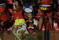 RECIFE-PE-11.02.2017-SPORT-RIVER-PI -  Torcida do Sport durante partida contra o River-PI em  jogo válido pela 3ª rodada da Copa do Nordeste 2017, no estádio da Ilha do Retiro, zona oeste do Recife, neste sábado, 11. (Foto: Jean Nunes/Brazil Photo Press)