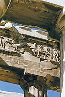 Greece: The Parthenon--part of the west frieze.