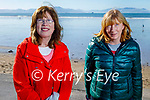 Enjoying a stroll in Ballyheigue on Sunday, l to r: Hannah Quirke and Breda Dunne.