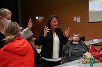 MdL Kerstin Geis schwört die Genossen auf die Landratswahl schon ein - Gross-Gerau 26.09.2021: Ergebnisse Bundestagswahl im Kreistag