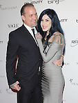 """Jesse James & Kat Von d attends the Art of Elysium 4th Annual Charity Gala """"Heaven"""" held at The Annenberg Building at The California Science Center in Los Angeles, California on January 15,2011                                                                               © 2010 DVS / Hollywood Press Agency"""
