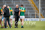 Kerry Selector Tommy Griffin and David Clifford, Kerry after the Allianz Football League Division 1 South between Kerry and Dublin at Semple Stadium, Thurles on Sunday.