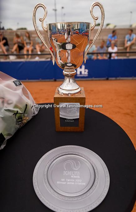 Amstelveen, Netherlands, 1 August 2020, NTC, National Tennis Center, National Tennis Championships, Trophy's