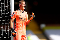 12th September 2020; Craven Cottage, London, England; English Premier League Football, Fulham versus Arsenal; Bernd Leno of Arsenal