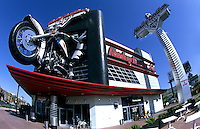 Harley Davison Restaurant on the Strip, Las Vegas, Nevada, USA