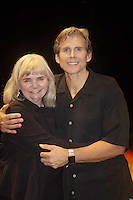 """Guiding Light's Grant Aleksander poses with his wife Sherry Ramsey as he stars in """"Breathing Under Dirt"""" - full play which had its world premier on August 13 and 14, 2016 at the Ella Fitzgerald Performing Arts Center, University of Maryland Eastern Shore, Princess Anne, Maryland  (Photo by Sue Coflin/Max Photos)"""