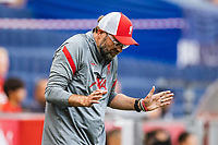 25th August 2020, Red Bull Arena, Slazburg, Austria; Pre-season football friendly, Red Bull Salzburg versus Liverpool FC;  Trainer Juergen Klopp FC Liverpool