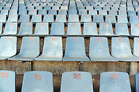 A general view of the seating in the Loftus Versfeld Stadium. Italy defeated USA 3-1 during the FIFA Confederations Cup at Loftus Versfeld Stadium, in Tshwane/Pretoria South Africa on June 15, 2009.
