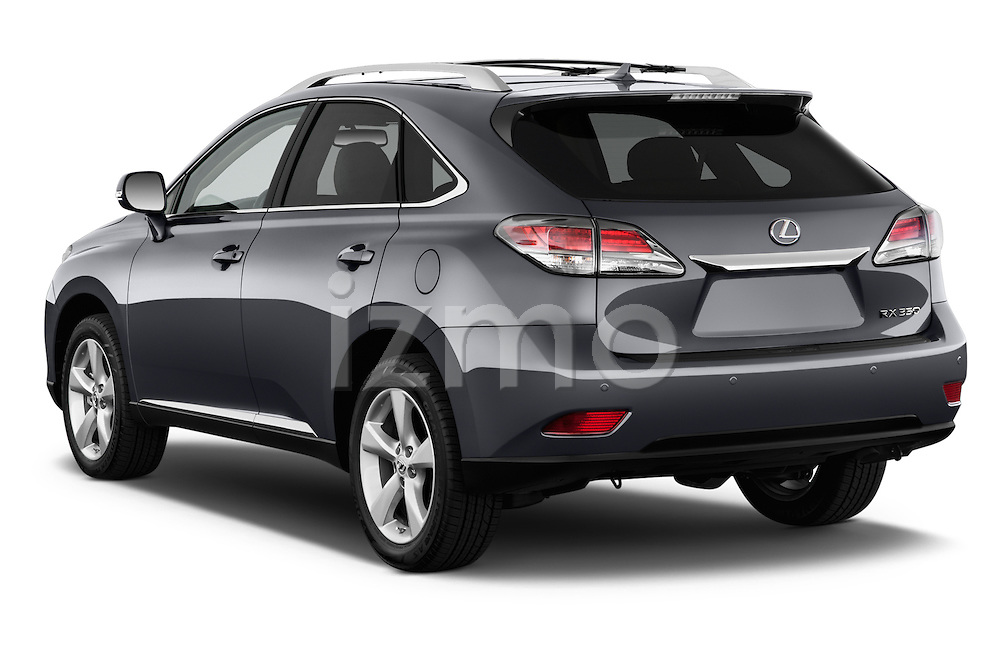Car pictures of rear three quarter view of a 2015 Lexus RX 350 5 Door Suv 2WD Angular Rear