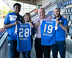 St Johnstone Players Sponsors Night…10.05.18<br />Matty Willock and Richie Foster<br />Picture by Graeme Hart.<br />Copyright Perthshire Picture Agency<br />Tel: 01738 623350  Mobile: 07990 594431